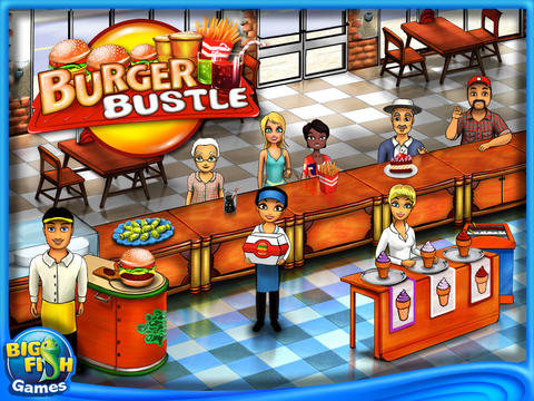Burger Bustle HD (Full) screenshot 1