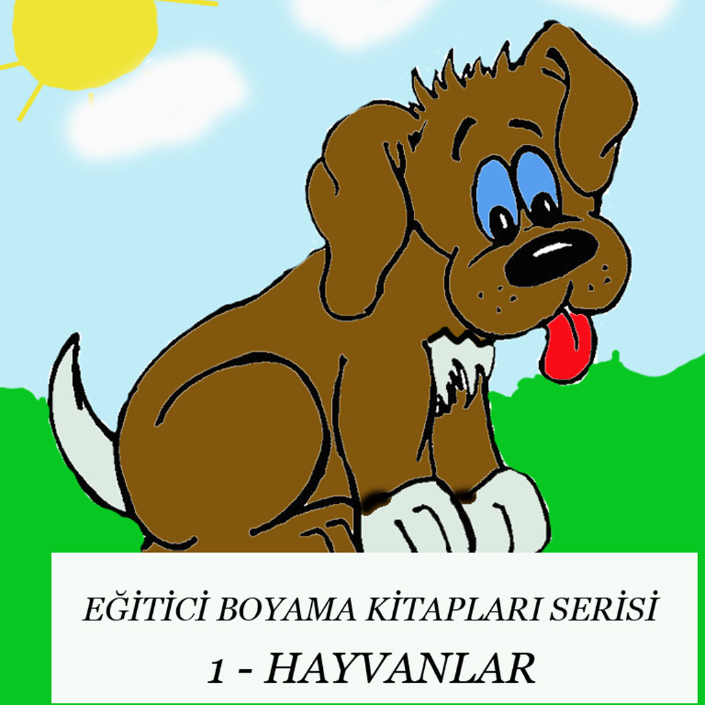 Egitici Boyama Kitaplari Serisi 1 Hayvanlar For Iphone Iphone