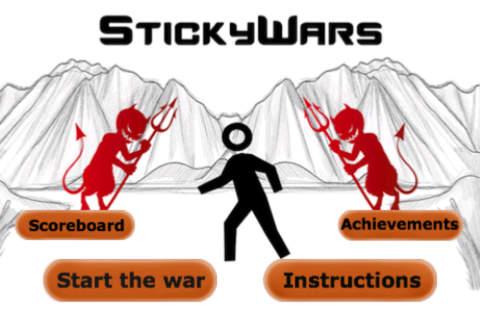StickyWars - náhled
