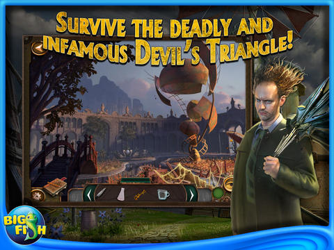 Hidden Expedition 4: Devil's Triangle HD by Big Fish screenshot #5