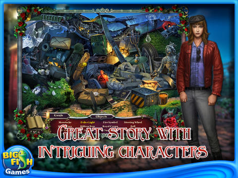 Nightfall Mysteries: Black Heart Collector's Edition HD (Full) screenshot 2