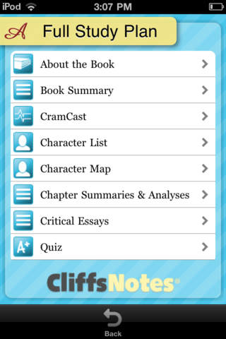 The Scarlet Letter - CliffsNotes screenshot 3