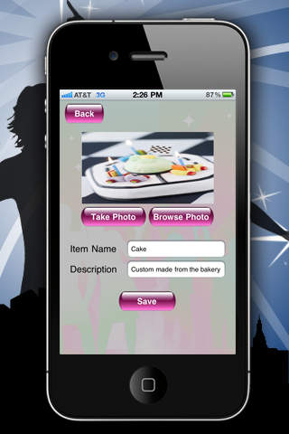 Party Planner HD screenshot 2