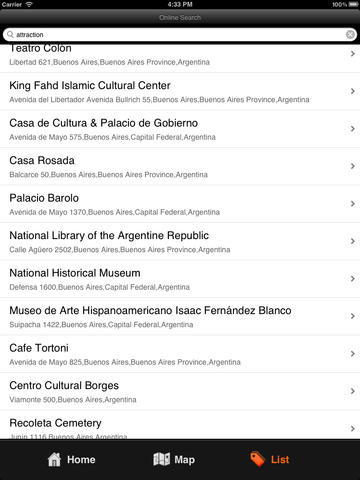 Buenos Aires Travel Map screenshot 8