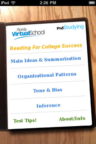 meStudying: Reading For College Success screenshot 2