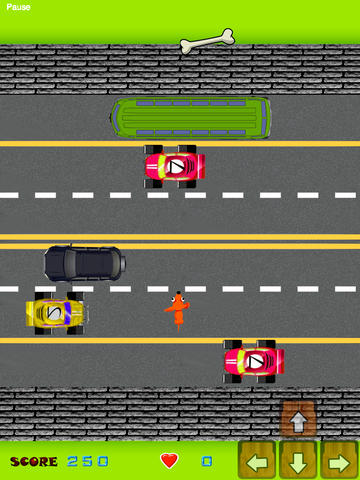 Dog Crossing The Road Free Game screenshot 10