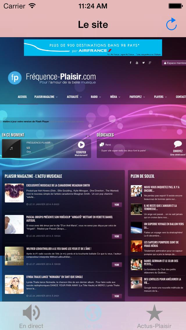 Fréquence-Plaisir screenshot 2
