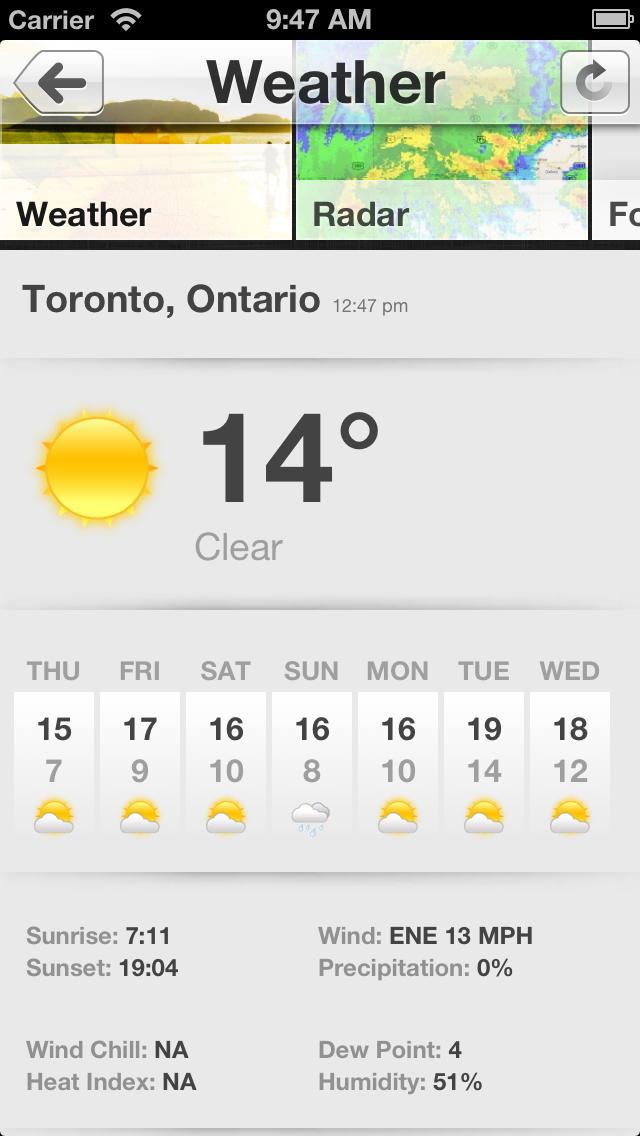 Toronto CityMinute screenshot 3