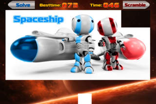 Spaceship Puzzle Game HD screenshot 4
