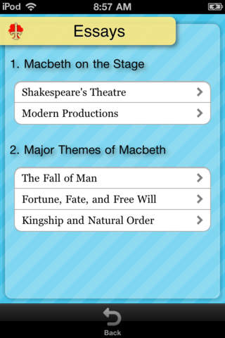 Macbeth - CliffsNotes screenshot 4