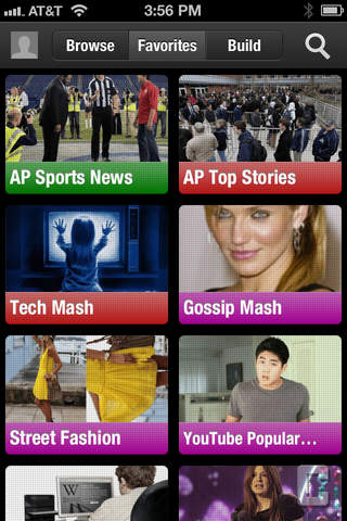 ChannelCaster Personalized News Mashup screenshot 1