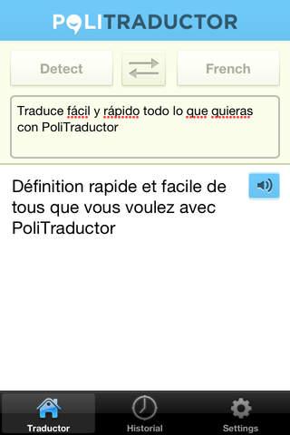 PoliTraductor - náhled