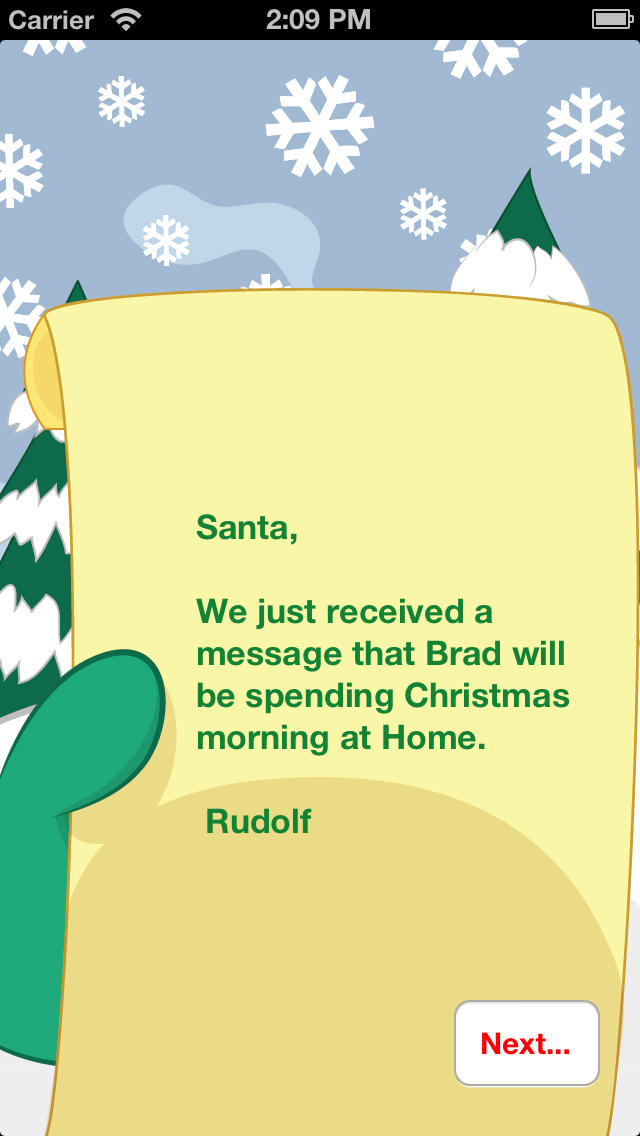 Find Me Santa - Let Santa know where you will be on Christmas screenshot 4
