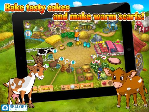 Farm Mania HD screenshot 4