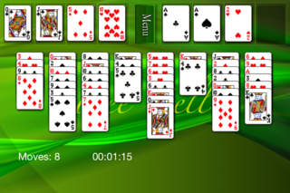 FreeCell (Better one) screenshot 3