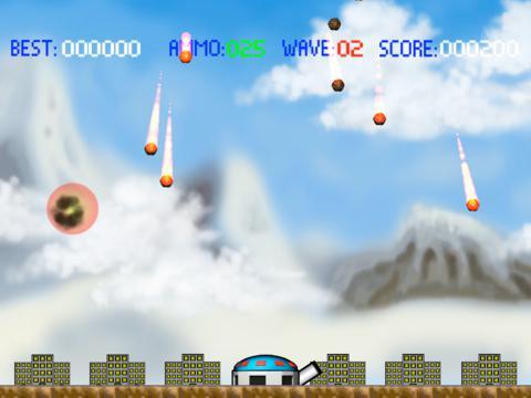 Rockets Defender HD screenshot 2