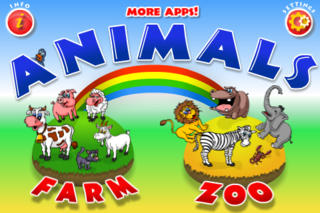 Animals - Zoo and Farm - Kids by 22learn screenshot 1