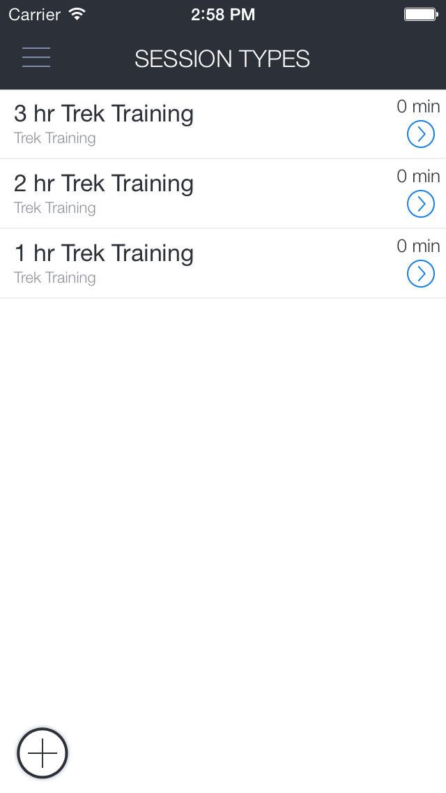 Wild Women On Top Trek Training screenshot 1