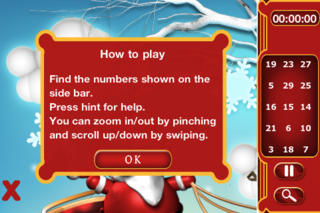 Santa Hidden Numbers screenshot 2