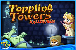 Toppling Towers: Halloween Free screenshot #1