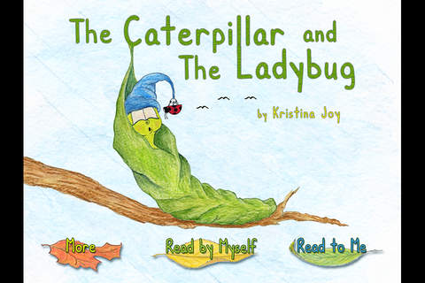 The Caterpillar and the Ladybug - an interactive c - náhled