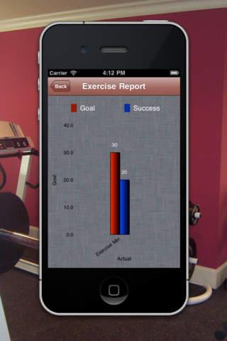 Exercise Reminder HD Lite screenshot 5
