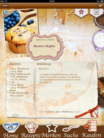 Weihnachts-Muffins & Cupcakes: Backen Weihnachten screenshot 5