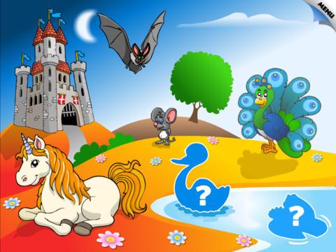 Animal Preschool Word Puzzles HD by 22learn screenshot 2