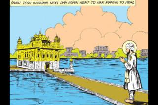 Sikh Gurus Digest - Amar Chitra Katha Comics screenshot 4