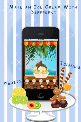 Yummy Ice Cream Maker Lite screenshot 3