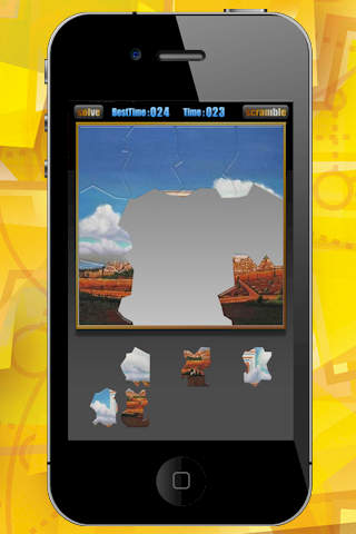 Jewish Temple Jigsaw Puzzle Game HD screenshot 2