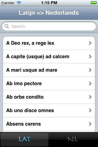 vertaling latijnse spreuken Latijnse spreuken   Free Download (Ver:1.1) for iOS   AppSoDo.com vertaling latijnse spreuken
