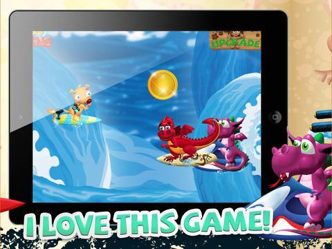 A Turbo Minion Surfers Dash to Outrun Sea Dragons - FREE Game! screenshot 7