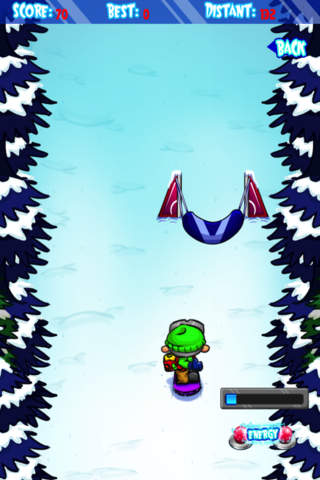 Ski Land Madness Lite screenshot 3