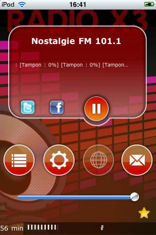 Les Radios de la Côte d'Ivoire - X3 Cote d'Ivoire Radio screenshot 1