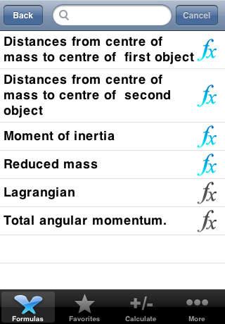Formula Pro - 680+ formulas screenshot 2