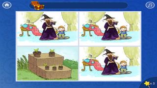 粗心的小魔法师-故事游戏书-baby365 screenshot 5