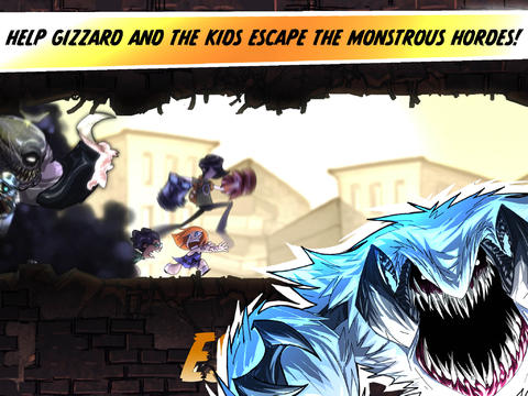 Escape from Age of Monsters HD screenshot 1