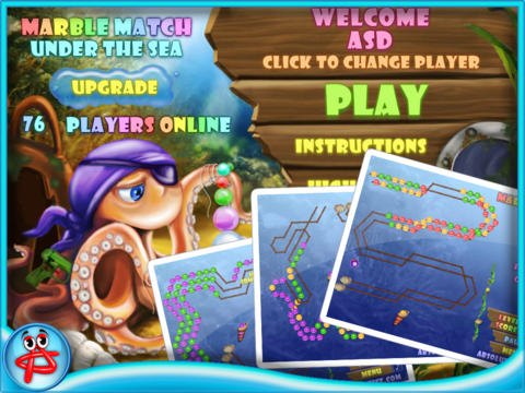 Marble Match: Under the Sea screenshot 1