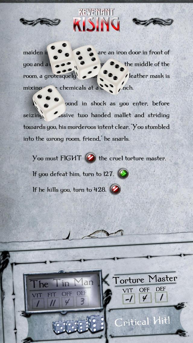 Gamebook Adventures 4: Revenant Rising screenshot 5