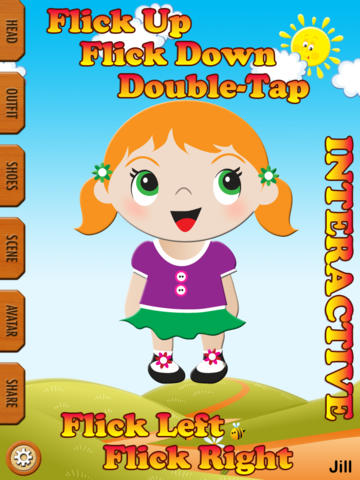 Abby Dress Up Dolls Maker HD Free Lite screenshot 5