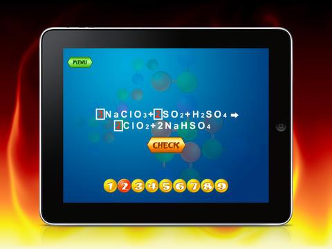 Chemistry Game HD Lite screenshot 7