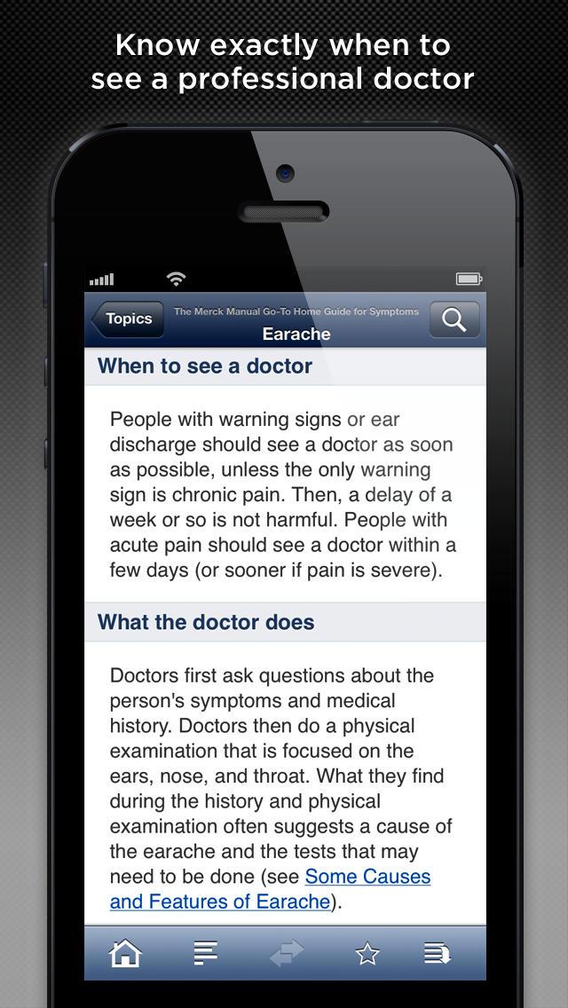 The Merck Manual Home Symptom Guide screenshot 5