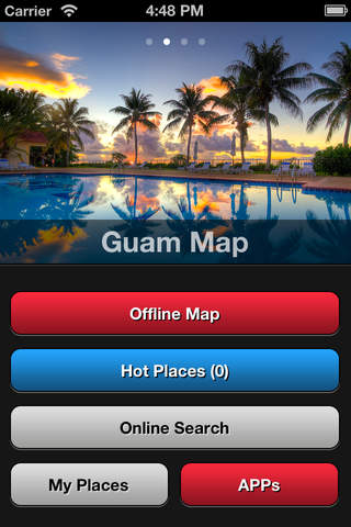 Guam Travel Map - náhled