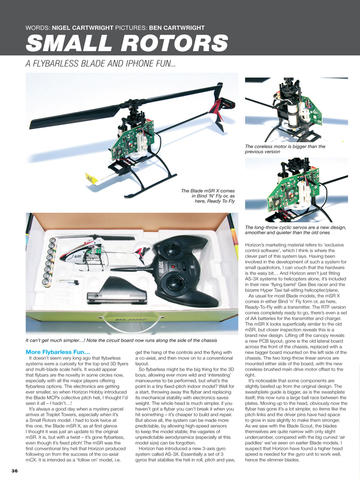 Model Helicopter World - The World's Best Radio Control Helicopter Magazine screenshot 6