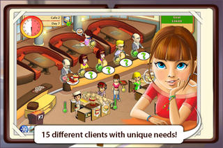 Amelie's Cafe screenshot 3