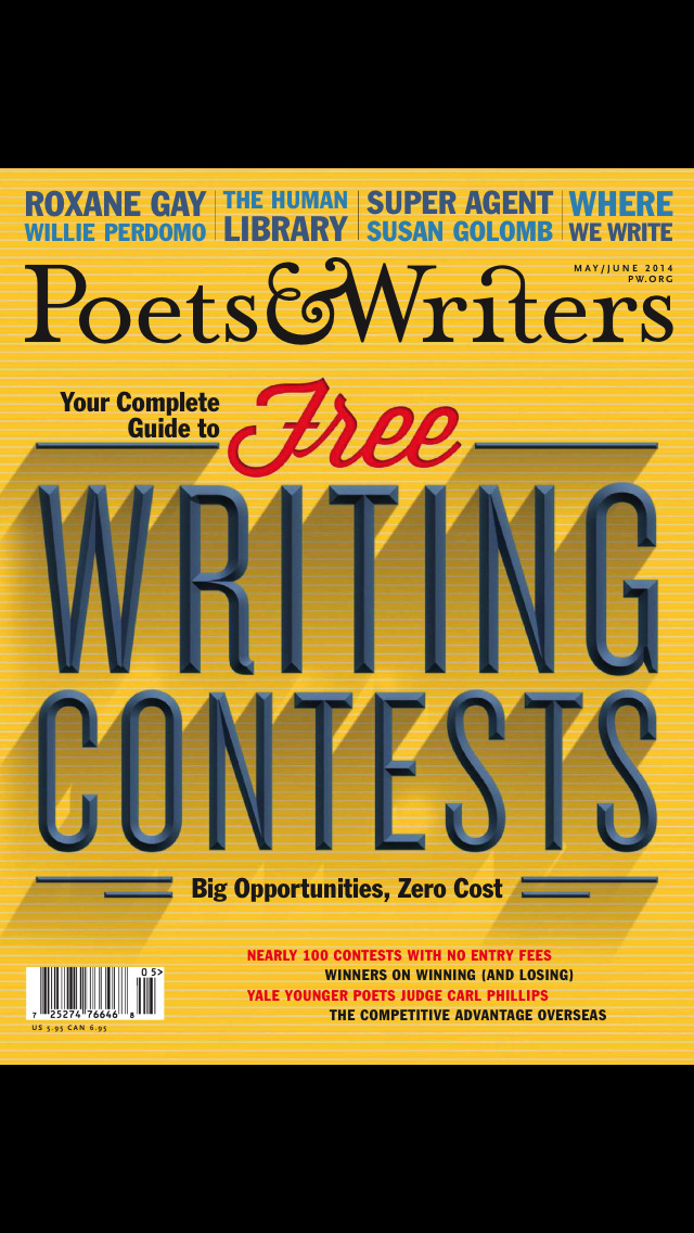 Poets & Writers Magazine screenshot 1
