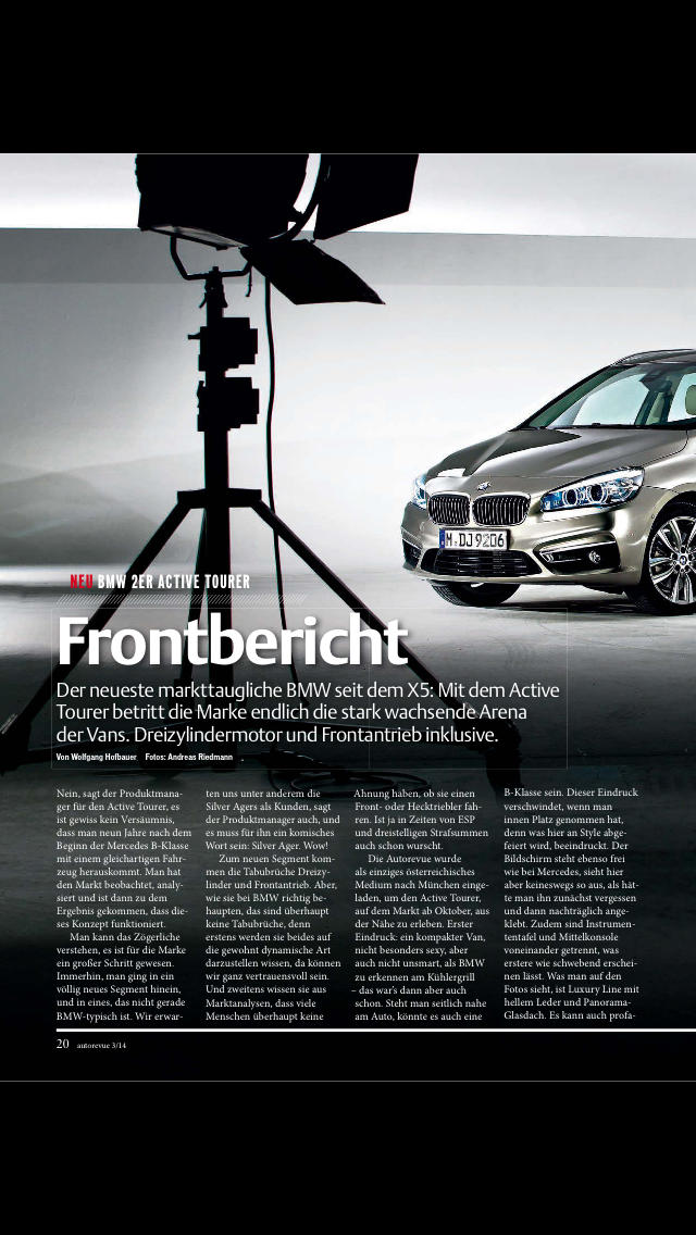 Autorevue screenshot 2