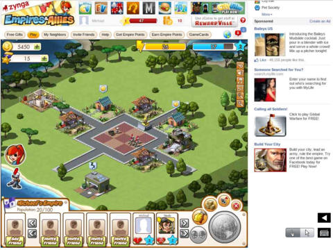 SocialGames - Play Free Flash Games with friends on Facebook for iPad screenshot 2