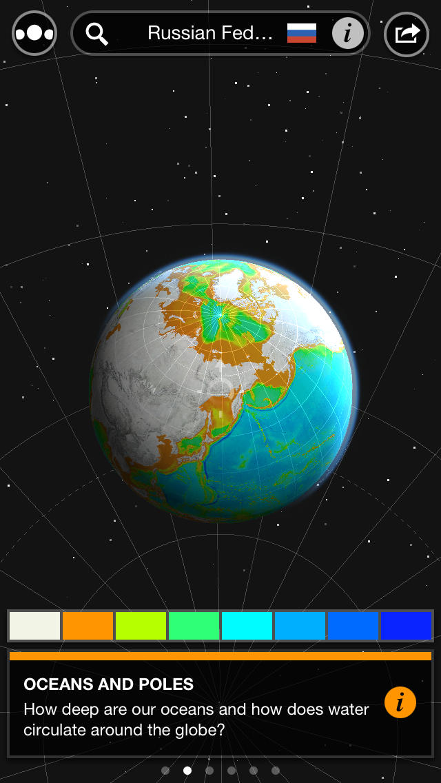 Atlas by Collins™ – a themed collection of interactive world atlases screenshot 1